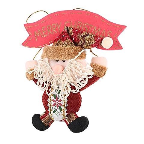 PanDaDa Weihnachtsgeschenke Weihnachtsmann Schneemann Verzierung Weihnachtsbaum Gadgets