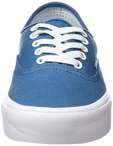 Vans Ua Authentic Lite, Baskets Basses Homme Turquoise (Canvas Larkspur/true White)