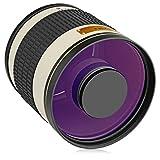 Opteka 500mm/1000mm f/6,3teleobjetivo lente de espejo para Nikon D5, D4S, D4, D3X, DF, D810,...