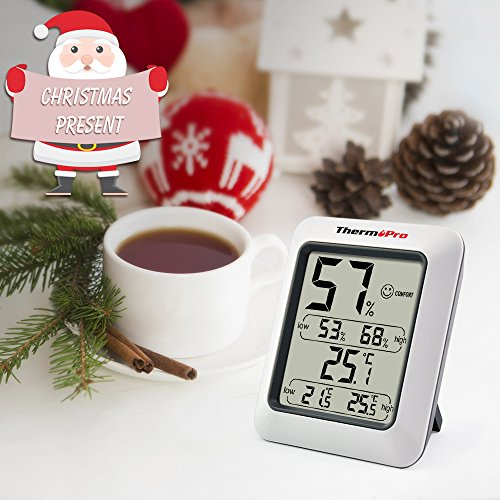 ThermoPro TP50 digitales Thermo-Hygrometer - 7