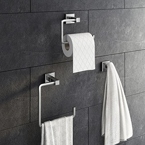 3 Piece Bathroom Accessory Set T...
