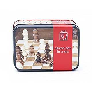 Chess Set in a Tin