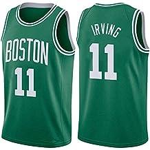 SEYE1° Uniforme De Baloncesto Unisex,Boston Celtics # 11, Irving 2019 NBA Jersey