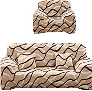 Sofas Covers set, made of lycra, 4 pieces, consist of 1 sofa Cover for three seater, 1 sofa Cover for two seat