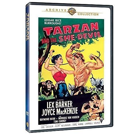 Tarzan and the She-Devil by Joyce Mackenzie, Raymond Burr, Monique Van Vooren Lex Barker
