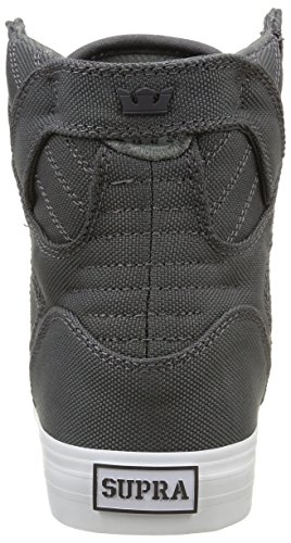 Supra - Skytop, Sneakers, unisex grigio (charcoal/white)