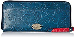 Holii Womens Clutch (M Blue Rose)