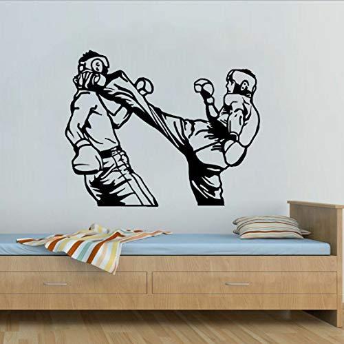 Kühlste Boxhandschuhe Sitzraum Die Schlafzimmer PVC Wall Aufkleber Küche und Gym 63x50cm