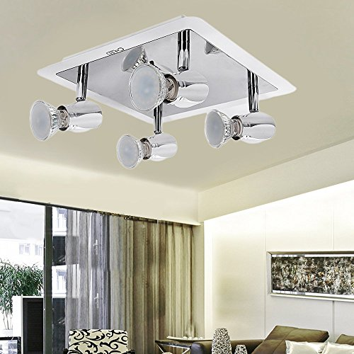 croled modern led ceiling lights rotatable spotlight led