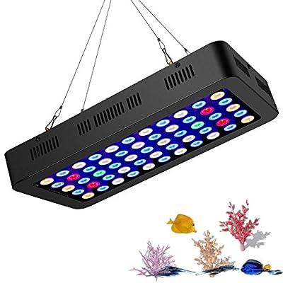 Spectre Complet Dimmable LED LumièRe D'Aquarium ÉClairage Lampe pour RéCif De Corail Aquarium Eau Fraiche & Eau SaléE