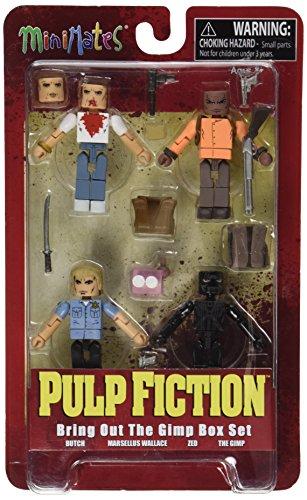 Diamond Select Toys Pulp Fiction: XX Aniversario Sacar el Gimp Minimates acción Figura Box Set