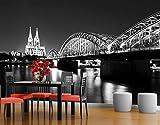 Fototapete Köln bei Nacht II, Dimension: 270cm x 72cm