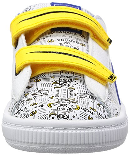 Basket white Blue lapis Inf Weiß Unisex Minions V kinder Puma Sneaker FtZpnqaw