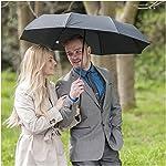 K-POP Umbrella - Windproof Umbrellas Black 10