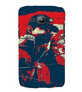 Man Abstract 3D Hard Polycarbonate Designer Back Case Cover for Samsung Galaxy J2 (2015) :: Samsung Galaxy J2 J200F