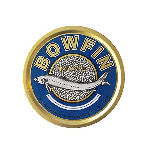Kachelhechtkaviar - Zarendom Bowfin Kaviar 125 g Dose - schwarzer Kaviar - caviar - икра