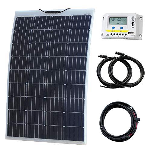 Esta 130W Panel Solar flexible Características back-contact las células solares con hasta 25% eficiencia de conversión. Hecho de material de fuerte ETFE que hace que este panel es menos propenso a la rotura, delamination y la corrosión. El recubrimi...