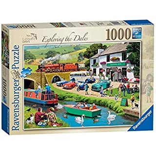 Ravensburger Leisure Days No.2 – Exploring the Dales, 1000pc Jigsaw Puzzle