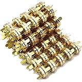 """100 ensembles de fermoirs à boutons magnétiques Bouton de fermoir de fixation de 18 mm / 0,7 """" pour la couture, Artisanat, sa"""