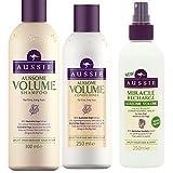 Best Aussie Shampoo And Conditioner Sets - Aussie Aussome Volume TRIO Shampoo 300ml + Conditioner Review