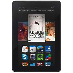 """Kindle Fire HDX 7"""" (17 cm), écran HDX, Wi-Fi, 32 Go (Précédente Génération – 3ème)"""