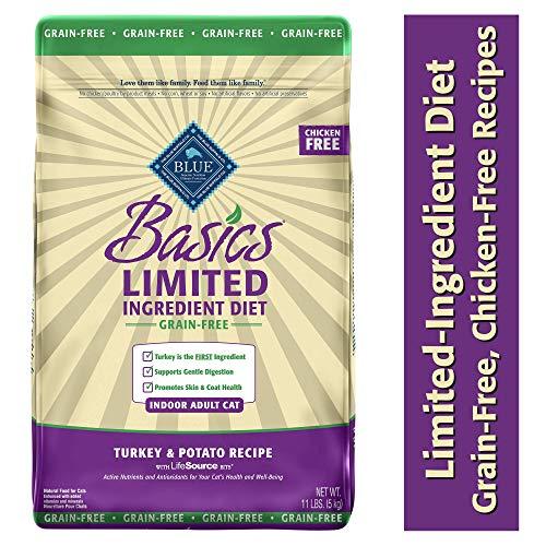 Blau Buffalo Basics Limited-Ingredient Trockenfutter für Katzen