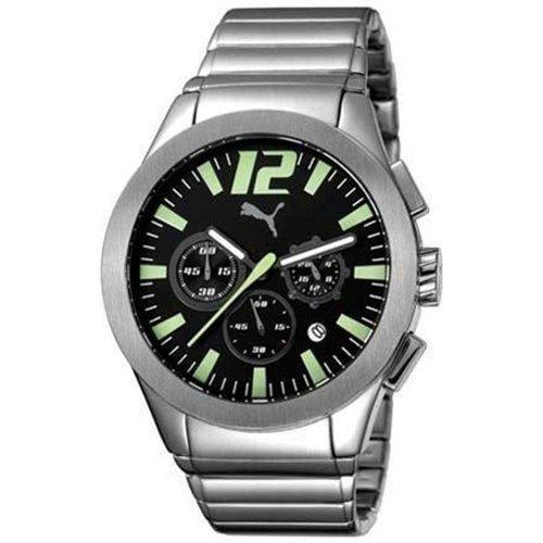 PUMA TIME PU101961006 - Orologio da polso da uomo, cinturino in acciaio...
