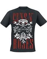 Guns N' Roses Appetite For Destruction T-Shirt schwarz