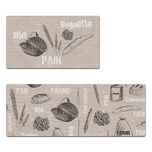 Felpudo/bar,cocina tapetes/alfombra/impermeable],prueba de aceite,estera ignífuga del pie-K 80x45cm(31x18inch)
