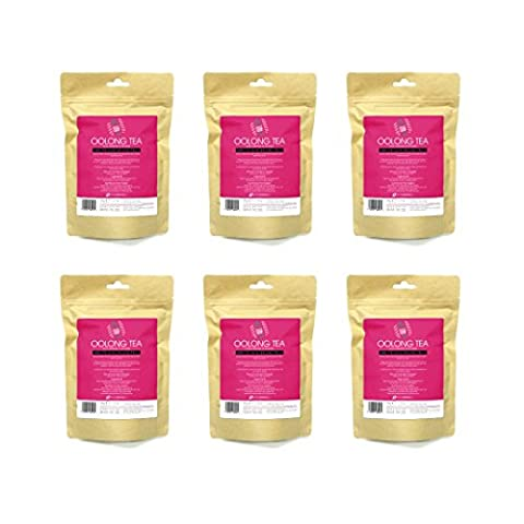 Oolong Slimming Tea - Wulong Wu Long Weight Loss Tea - 6 Boxes, Chinese Health Diet Tea, Fat burner, Fat blocker, Increase metabolism, Suitable for