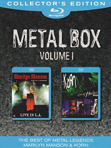 Metal box - Marilyn Manson - Guns, God and government - Live in L.A. + (Heavy Metal Box)