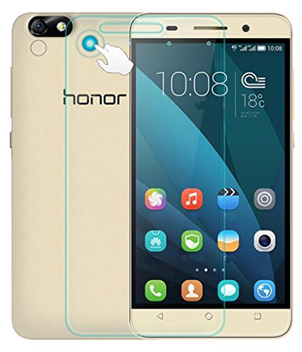 Huawei Honor Acer 4x Premium Screen Protector inkl. Magic Click Funktion Tempered Glass Hartglas Schutzfolie Display Schutzglas Glasfolie 0,3mm von Wunderglass