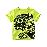 Julhold Kind Kinder Baby Mädchen Jungen Hübsche Cartoon Dinosaurier Freizeit T Shirt Tops 1 STÜCKE Outfits Kleidung 1-10 Jahre