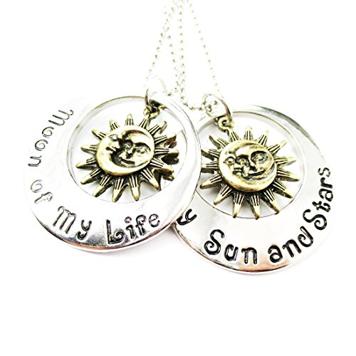 "Regalo d'Amore - Collana double-face GAME of THRONES: ""My Sun and Stars - Moon of My Life"" Amore Eterno - Idea San Valentino"