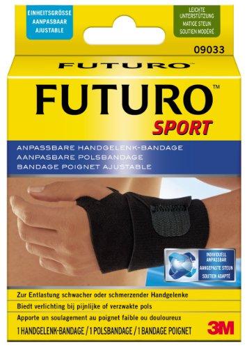 futuro bandagen FUTURO Sport Handgelenk-Bandage FUT09033, Einheitsgröße, beidseitig tragbar