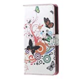 Wiko Rainbow Jam 4G Coque,Cuir Coque Flip Cover Case avec Support et Carte...