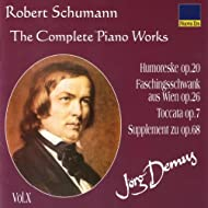 Schumann: The Complete Piano Works Vol. 10