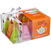 "English Tea Shop - Teegeschenk mit Schleife""Rooibos Tee Kollektion"", BIO, 12 Pyramiden-Beutel"