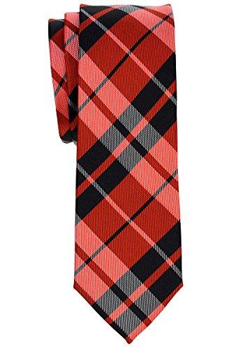 Retreez - Cravate - Homme rouge/noir