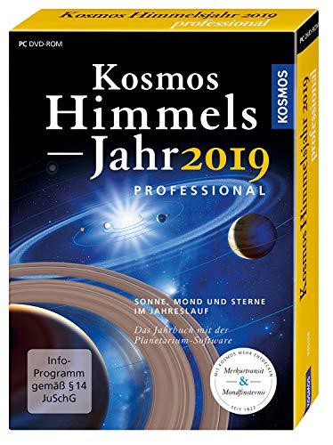 Kosmos Himmelsjahr professional 2019: Der Sternenhimmel im Jahreslauf / Buch und Planetarium-Software