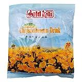 Gold Kili Bebida Instantánea De Hierbas Con Miel Y Crisantemo - 20 bolsitas (Paquete De 2)