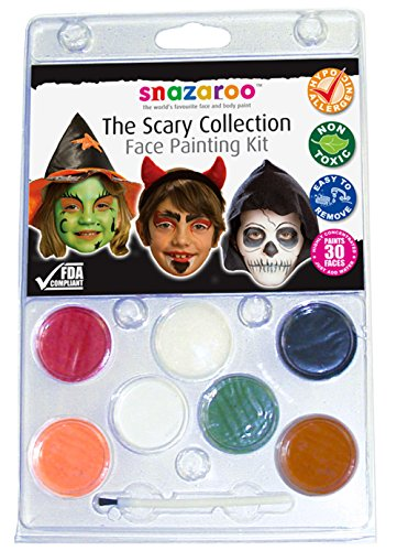 Snazaroo Face Paint Scary Collection Kit