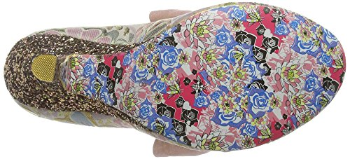 Irregular Choice Windsor, Mary Jane femme Gold (Gold Multi)