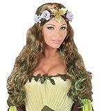 Karneval Klamotten Kostüm Perücke Waldfee Dame Zubehör Fasching Karneval