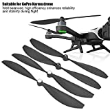 RC Drone Blade Propellers, 2 Pairs CW CCW ABS Replacement Blade Propellers for GoPro Karma Drone Quadcopter Accessory