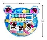 Driverder Frühe Entwicklungsaktivität Spielzeug 1 Satz Bär Lernen Box Lernbrett Zählen Stick Berechnung Rahmen für Kinder (Zufällige Farbe)