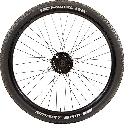 Galano Fahrrad Laufrad 27,5 Zoll 650B Schwalbe Smart Sam Aluminium E-Bike Mountainbike (hinten) -