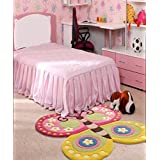 Littlelooms Butterfly Cut Out Kids Rug & Carpet Baby Multifuntion Mat For Kids Play Room Decor For Nursery Kids Room 0-12 Years Child (Multi Color)