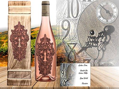100% Vintage Rosewein | Geschenkset Moment Clé Rosé | limitiert auf 5.000 Flaschen | Der beste Rosé Frankreichs im edeln Geschenkset | Vintage Weine aus dem Bordeaux der Adelsfamilie Jany | Eine echte Alternative zum Jollie-Pitt Miraval oder dem Whispering Angle | Das Geschenk für Frau, Freund und Luxus verwöhnte Weinkenner...es muss nicht immer Moet Champagner oder Sansibar Prosecco seines muss nicht immer Moet oder Sansibar sein