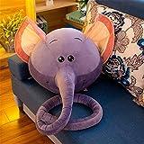 TONGTONG Spielzeug Elefanten-Spielzeug Puppe Kissen Kissen Sofa Room Decor Stuffed für Kinder Baby Junge Mädchen präsentiert Toys Baby,Blue